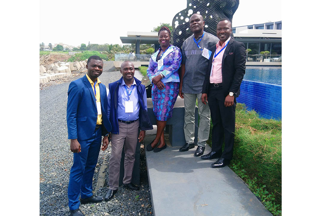 UCC delegation who took part in the workshop