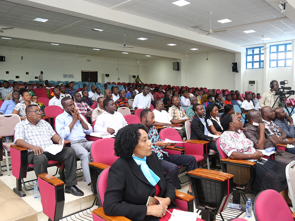 The audience at the lecture