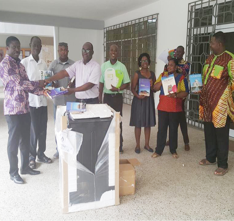 Alumnus Donates to Department of Hospitality and Tourism Management