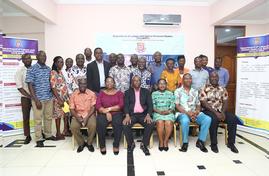 Participants of the Curriculum Development workshop