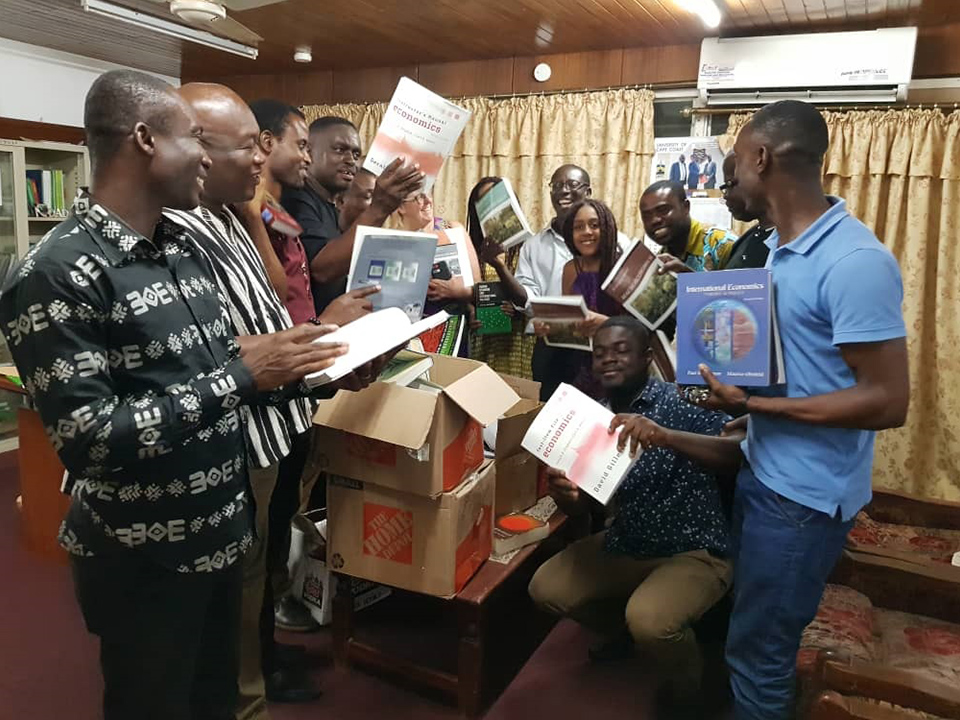 Donation of the books