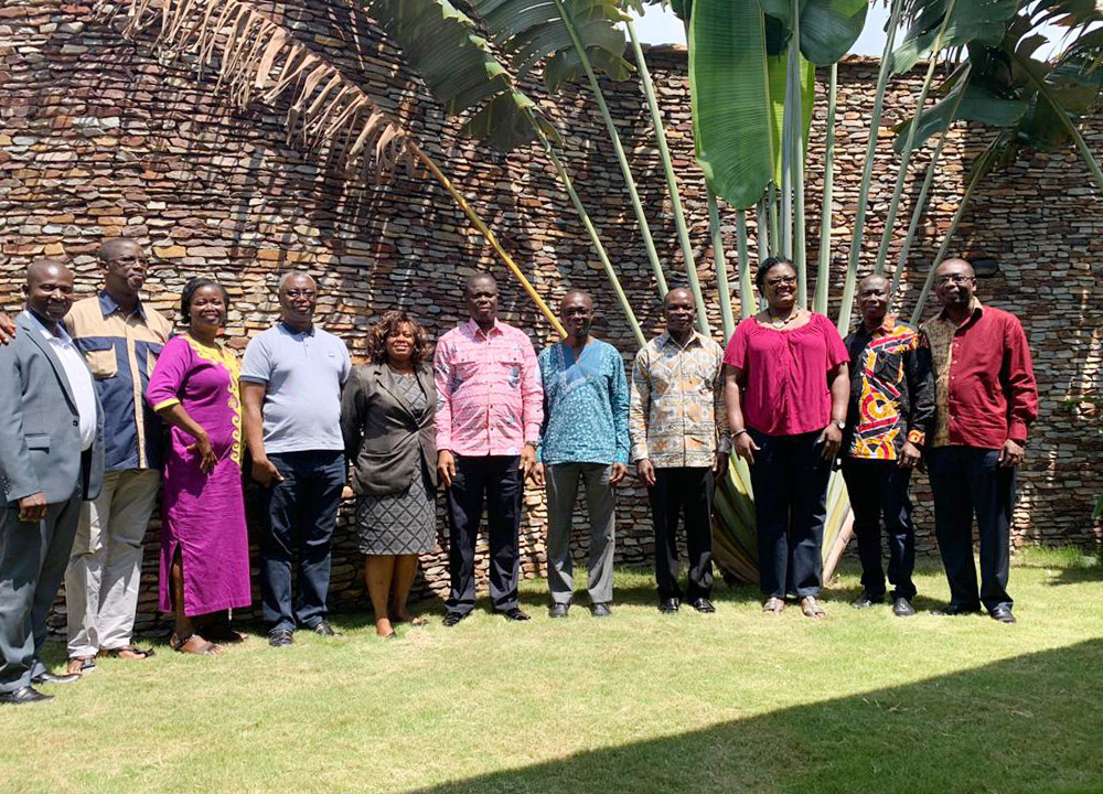 Members of Management of the University after the four-day retreat