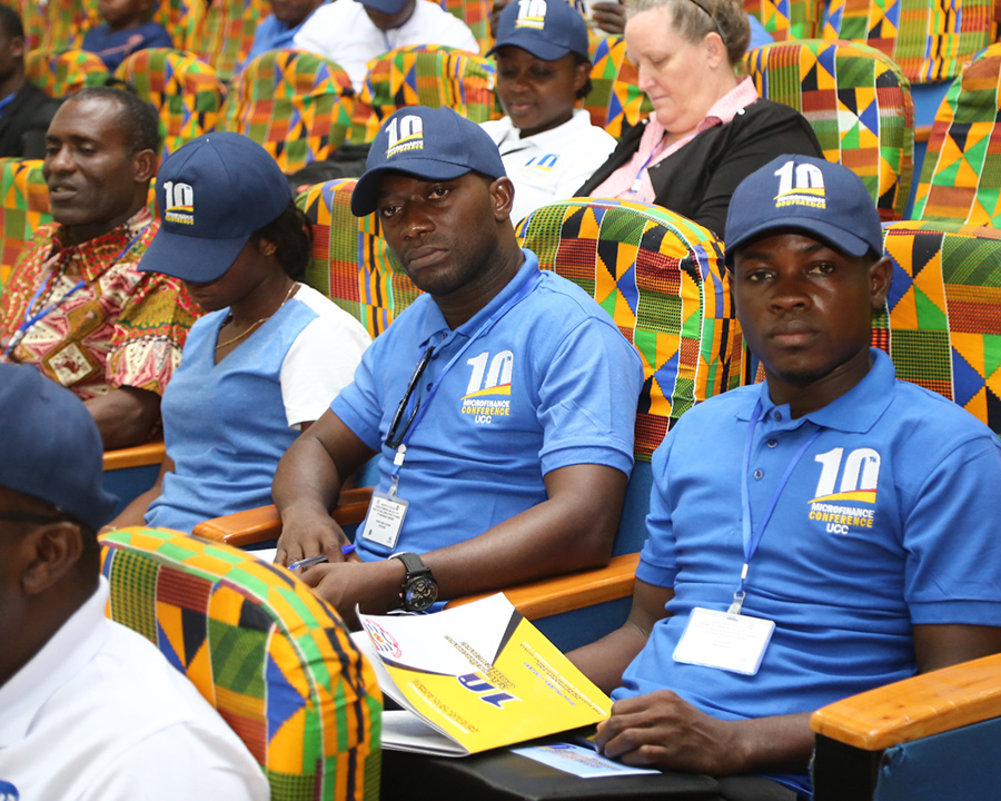 Some participants of the Microfinance Conference