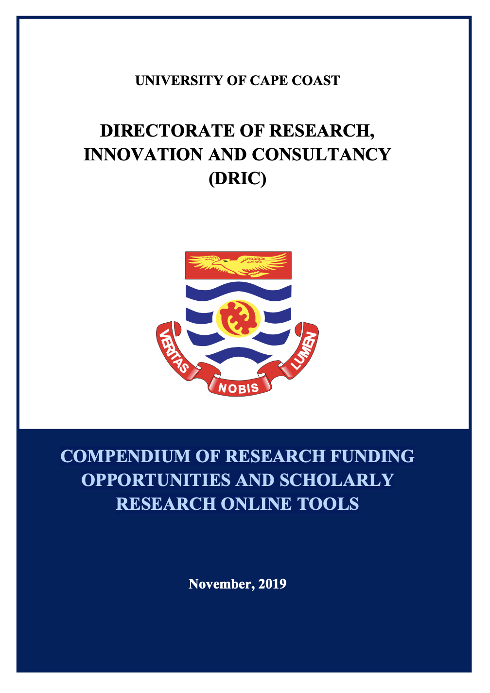 Compendium of research funding opportunities