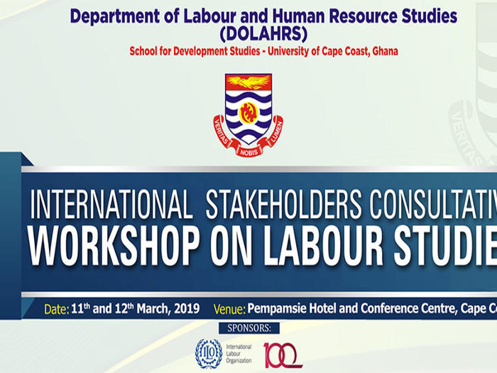 Banner of Stakeholder's Consultation on Labour Studies