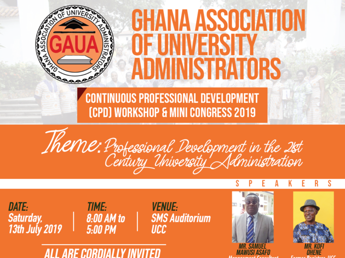 Continuous Professional Development (CPD) Workshop and Mini Congress