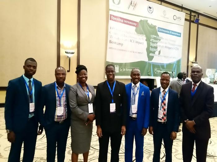 The UCC delegation