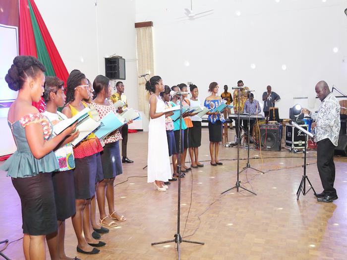 Performance at the Carols Service