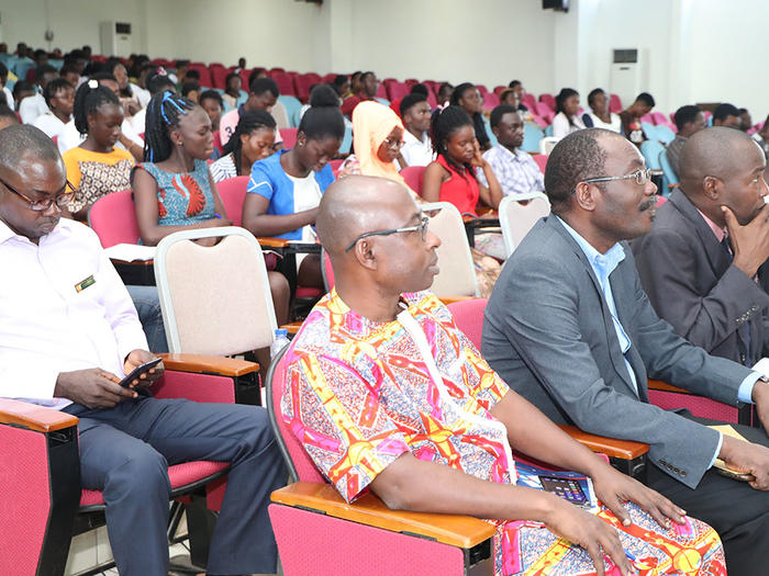 Some dignitaries and participants at the workshop