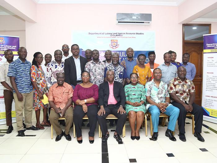 Participants of the Curriculum Development workshop