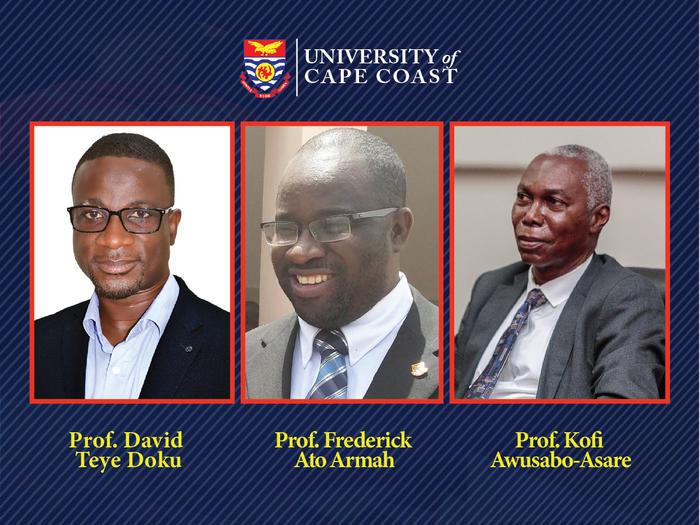 Three UCC Faculty members ranked in the top 50 Scholars in Ghana