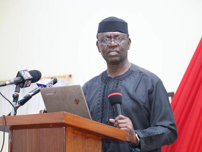 UCC-Ghana National Petroleum Corporation (GNPC) Professorial Chair of Petroleum Management, Prof. Omowumi O. Iledare