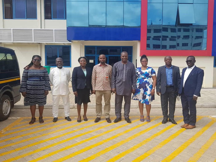 The Management of School of Business with the old and new heads