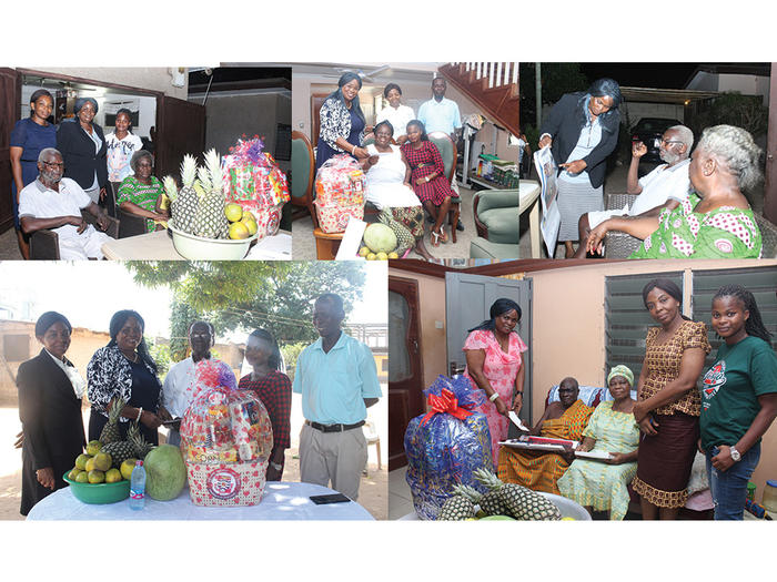 The Retirees the Welfare team visited