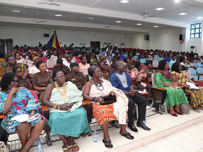 Some traditional leaders and participants at the Symposium