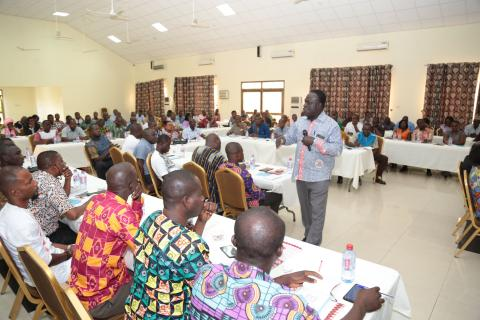 institute of education trains coordinators of supported teaching in colleges of education