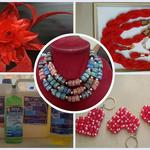 Liquid Soap, Local Beads, Weaving, Millinery Art